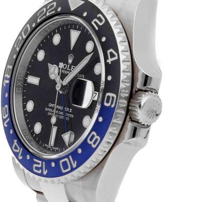 Rolex GMT-Master II 116710BLNR 904L Oystersteel Edelstahl Schwarzes Zifferblatt 40MM Gehäuse