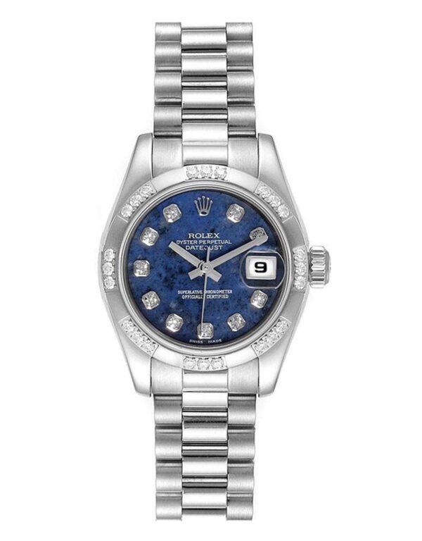Rolex Datejust 179369 904L Oystersteel Blue Lapis Dial 26MM Gehäuse