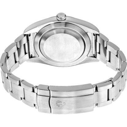 Rolex Oyster Perpetual 114300 904L Oystersteel Edelstahl Traube Rotes Zifferblatt 39MM