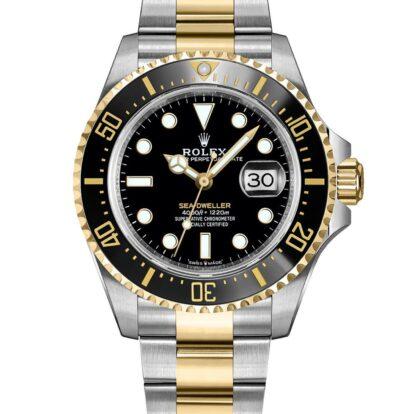 Rolex Sea-Dweller 126603 904L Oystersteel Edelstahl Schwarzes Zifferblatt 43MM